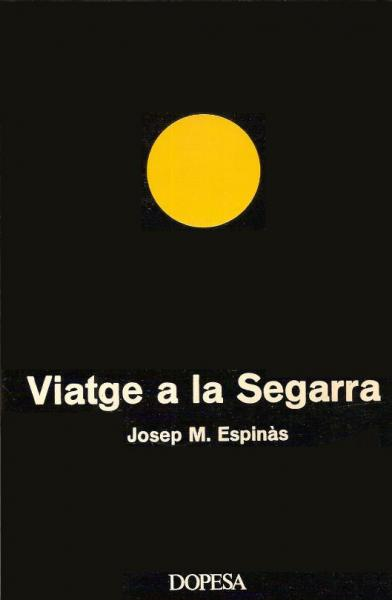 Portada del llibre Viatge a la Segarra editat el 1972 -