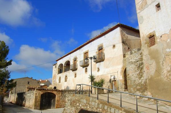 Detall d'un carrer de Tarroja de Segarra - Tarroja de Segarra