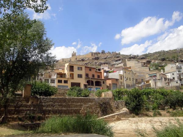 09.08.2012 Vista del poble  Sanaüja -  Jordi Bibià