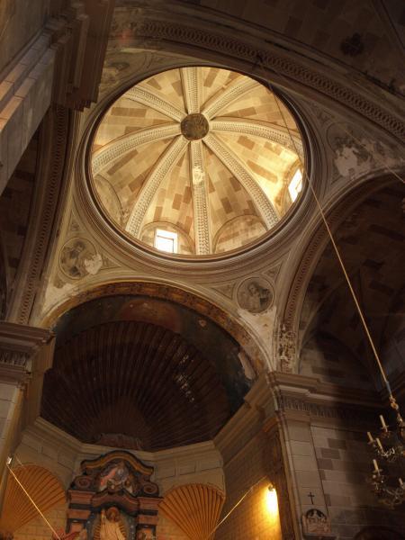09.08.2012 Interior de l'església de Sant salvador de Tarroja, del segle XVIII  Tarroja de Segarra -  Giliet de Florejacs