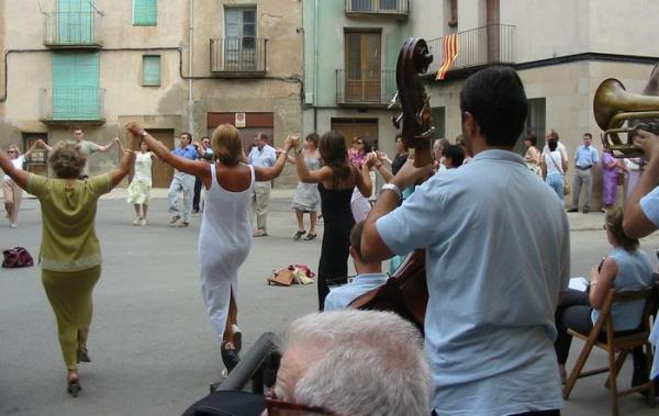 10.08.2012 Festa Major de Torà. Ballada de Sardanes.  Torà -  Josep Maria Santesmasses Palou