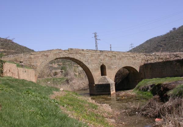 10.08.2012 El pont de les Merites  Torà -  Ramon Sunyer