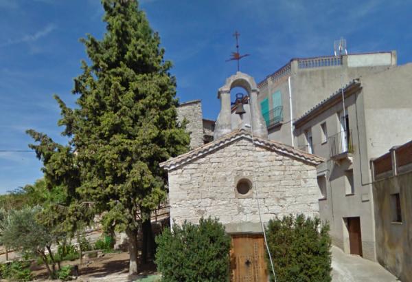 A la façana hi diu ' Açí és nat Sant Ramon Nonat' -
