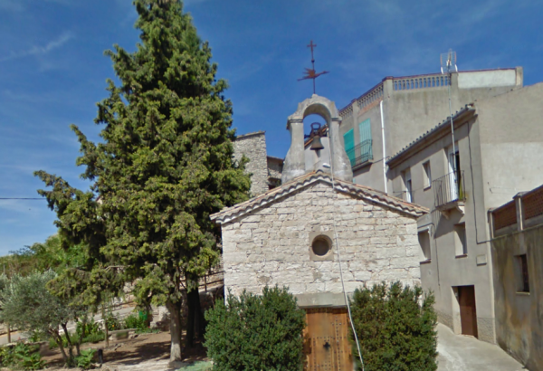 11.08.2012 A la façana hi diu ' Açí és nat Sant Ramon Nonat'  Portell -  Google maps