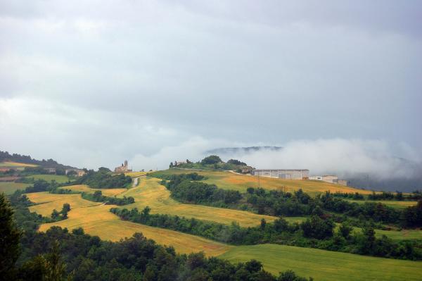 14.08.2012 '..Arribem a L'Albió, que es un poblat situat en un indret estratègic'  Albió -  Angelina Llop