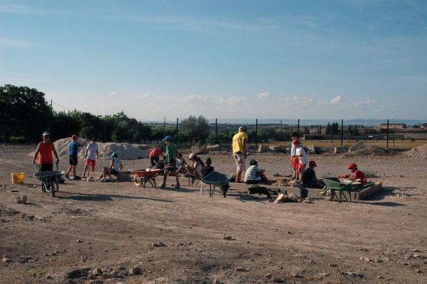 Els nois tindran l'oportunitat de treballar en la recreació d'una excavació - Guissona