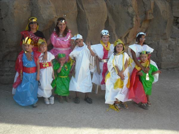 16.08.2012 taller de disfresses  Florejacs -  Ajuntament de Torrefeta i Florejacs