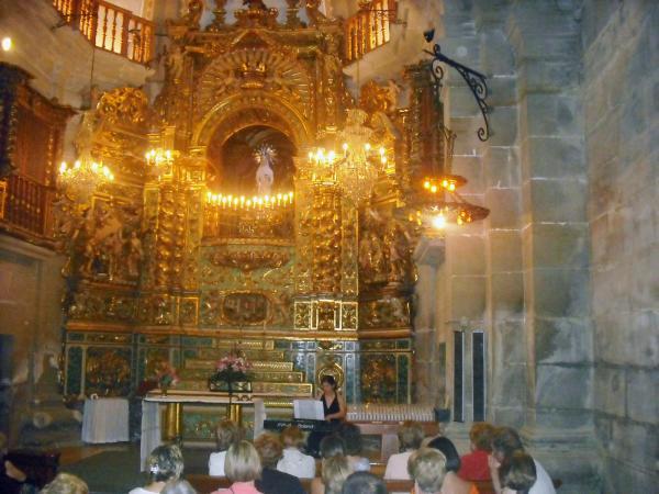 17.08.2012 concert de música barroca a  la Capella de la Verge de la Claustre  Guissona -  Ajuntament de Guissona