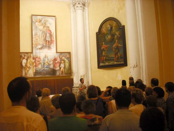 17.08.2012 La segona visita es centra en el passat modern  Guissona -  Ajuntament de Guissona
