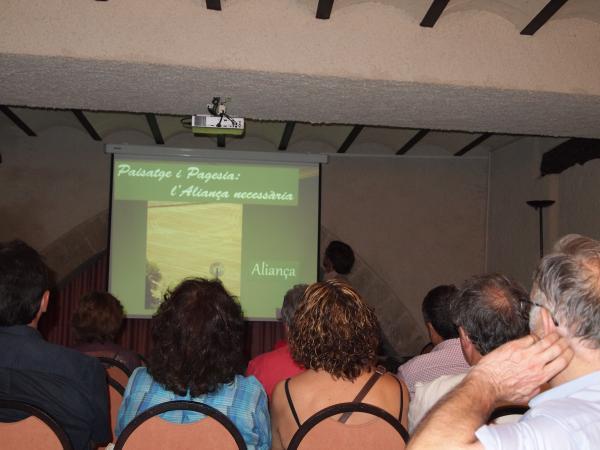 """Presentació del document  """"Un paisatge per demà"""" - Santa Coloma de Queralt"""
