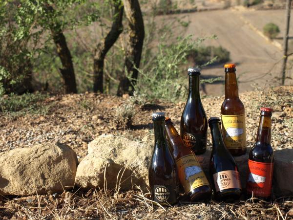 30.09.2012 cerveses artesanes de la Segarreta i la Vella Caravana  Guissona -  Camins de Sikarra