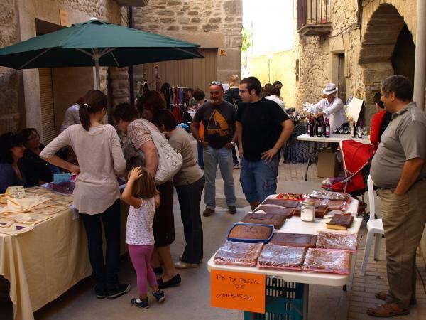 06.10.2012 mercat amb productes de la terra  Sedó -  Jaume Moya