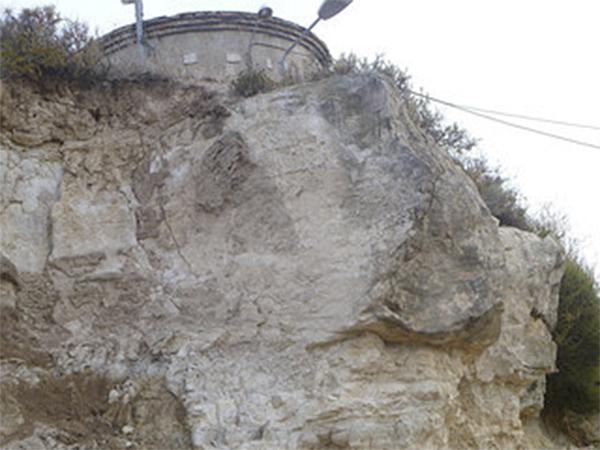 Detall de la roca - Els Omells de na Gaia
