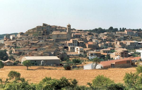 08.10.2012 Vista general del poble  Els Omells de na Gaia -  cami2013.blogspot.com.es