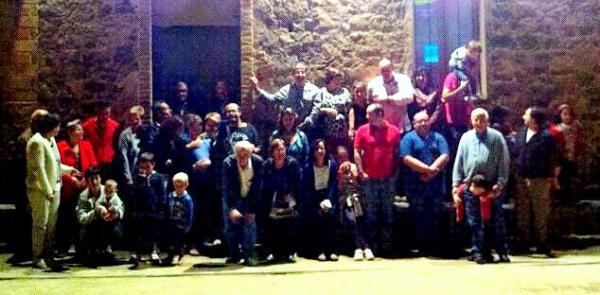 06.10.2012 Veïns de Palou celebrant la festa del Roser  Palou -  Raquel Escolà