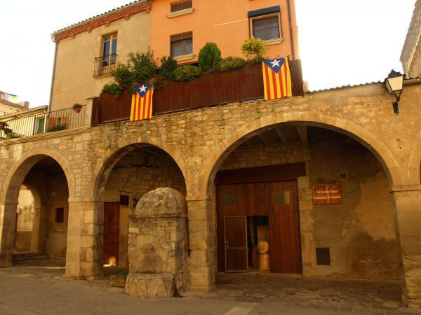 18.10.2012 Detall de la plaça  Copons -  Jaume Moya