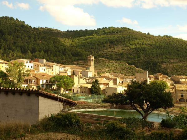 18.10.2012 Vista del poble  Copons -  Jaume Moya