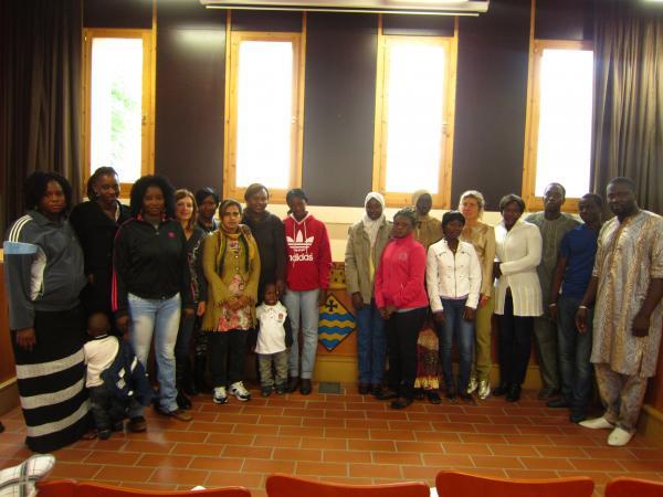 29.10.2012 inscrits al curs de català de nivell Inicial per a immigrants  Guissona -  Ajuntament de Guissona