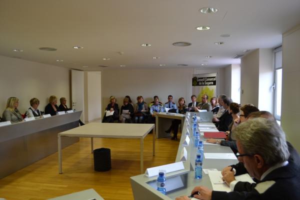 La Segarra signa un protocol integrador per treballar coordinadament el casos de violència a la comarca - Cervera