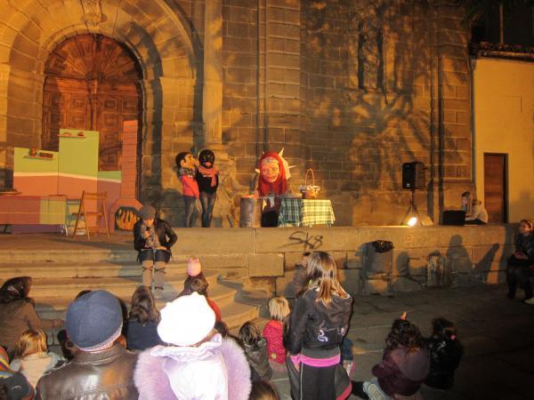 31.10.2012 representació del conte de La Castanyera  Guissona -  Ajuntament de Guissona