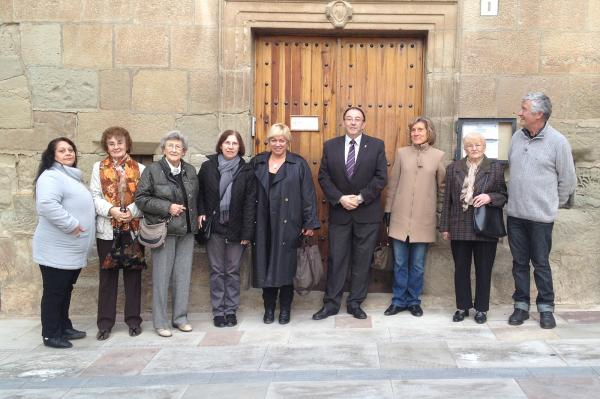 09.11.2012 Acte de cloenda del voluntàriat per la llengua de Torà   Torà -  Consell Comarcal de la Segarra