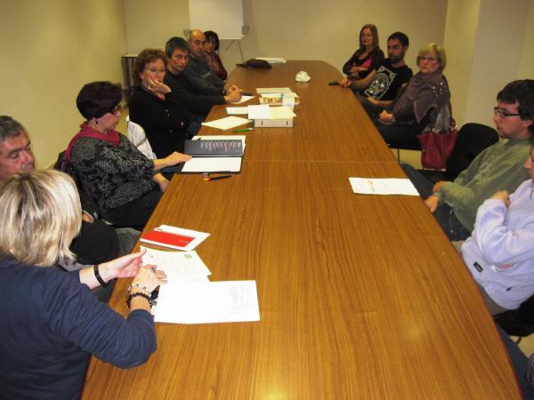13.11.2012 Assemblea de l'Associació de cases de Turisme Rural de la Segarra  Cervera -  Consell Comarcal de la Segarra