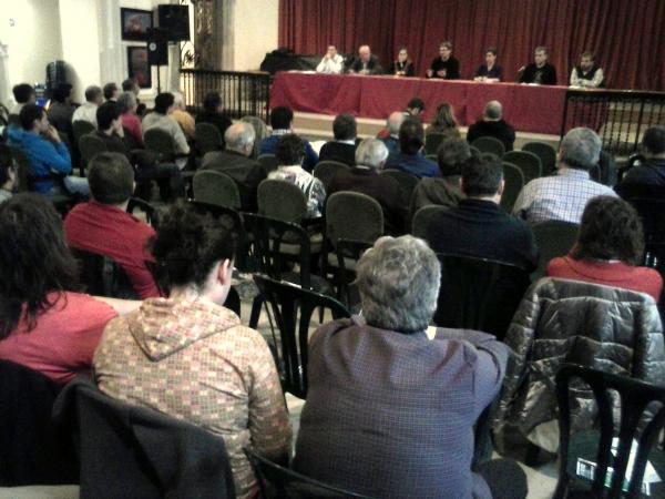 Els candidats debaten les seves propostes electorals a Cervera