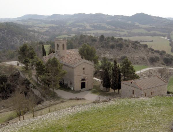 15.03.2008 Església de Santa Fe  Calonge de Segarra -  A. Casanoves