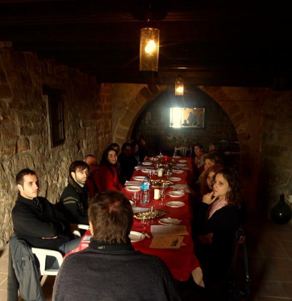 tast i maridatge de vins, a càrrec de l'enòleg Killian Vadnov