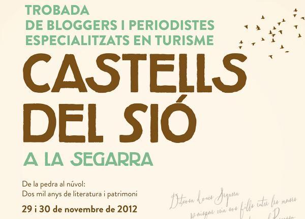 29.11.2012 Cartell trobada de bloggers  -  Consell Comarcal Segarra