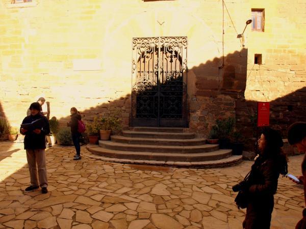 29.11.2012 Lectura de textes de Manel de Pedrolo  L'Aranyó -  Camins de Sikarra