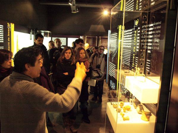 29.11.2012 Museu Iesso  Guissona -  Camins de Sikarra