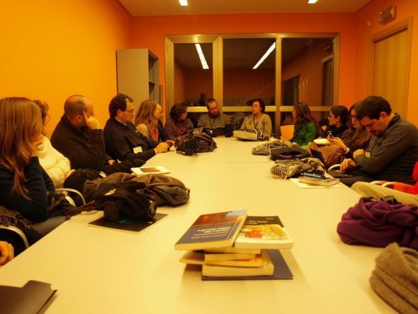 29.11.2012 Biblioteca  Guissona -  Camins de Sikarra