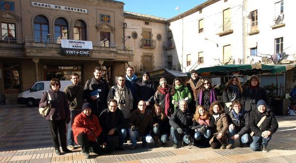 30.11.2012 el grup de blocaires a Cervera  Cervera -  Camins de Sikarra