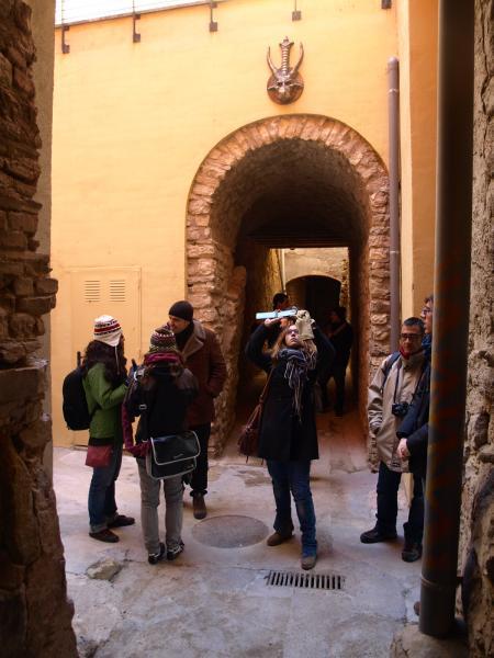 30.11.2012 Al carrer de les bruixes de Cervera  Cervera -  Camins de Sikarra