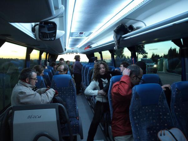 30.11.2012 en ruta, entre Cervera i Montfalcó  Cervera -  Camins de Sikarra