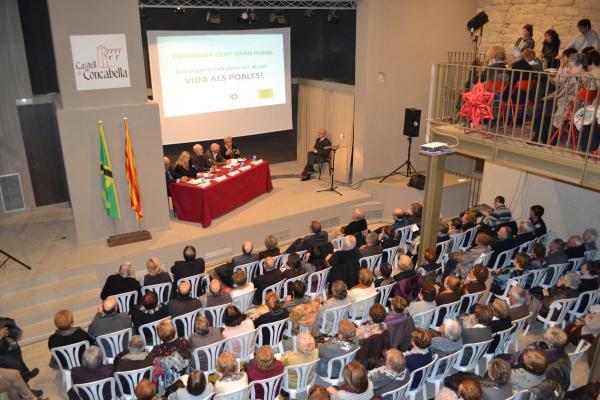30.11.2012 Acte Programa Gent Gran Rural  Concabella -  Consell Comarcal de la Segarra