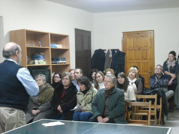 01.12.2012 xerrada Sexualitat i maduresa, a càrrec del Dr. Pere Font  Bellveí -  Ajuntament de Torrefeta i Florejacs