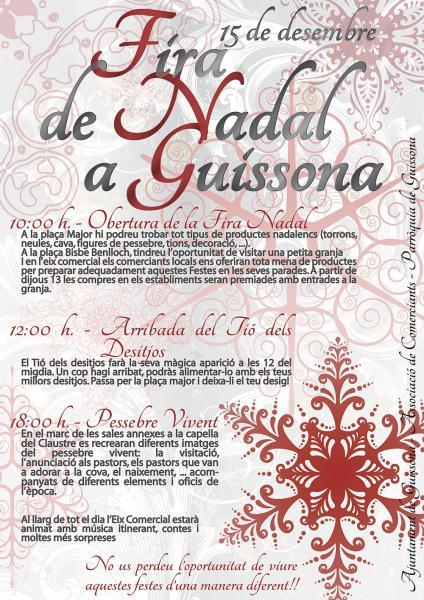 cartell 1a Fira de Nadal -