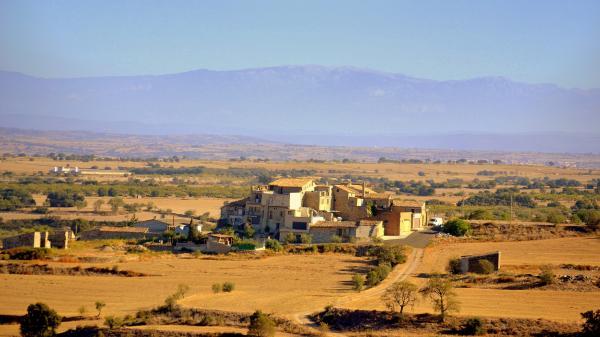 Vista del poble de Tordera