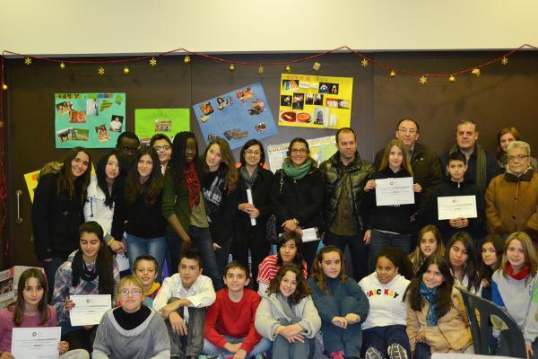 14.12.2012 Entrega els premis 'Contrastos' a la interculturalitat.  Cervera -  Consell Comarcal de la Segarra