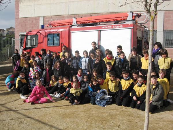 07.12.2012 Taller educatiu 'El Foc i Tu' de del Cos del Bombers de la Generalitat,  Cervera -  Consell Comarcal de la Segarra