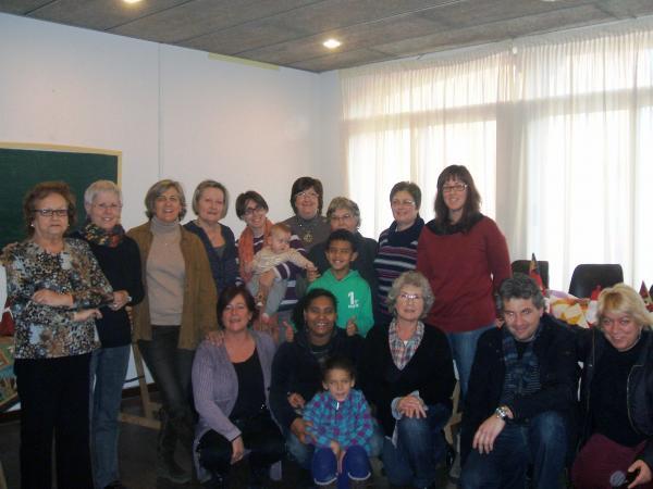 19.12.2012 Cloenda dels tallers de costura i patchwork  Sant Guim -  Consell Comarcal de la Segarra