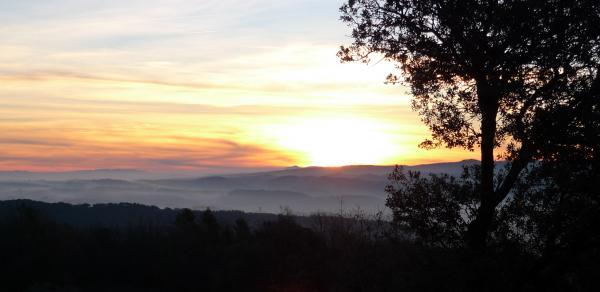 22.12.2012 Sortida del primer sol del hivern al dolmen  Llanera -  Xavier Sunyer