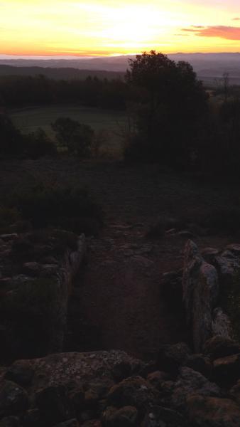 22.12.2012 Primers raigs del sol  llanera -  Xavier Sunyer