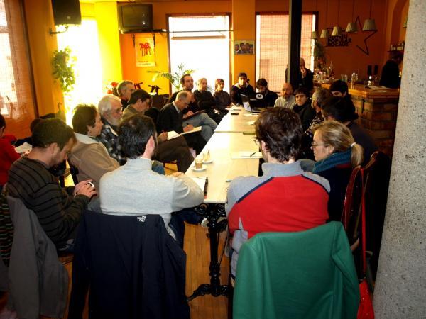 representants de totes les zones afectades es van trobar a Sallent - Sallent