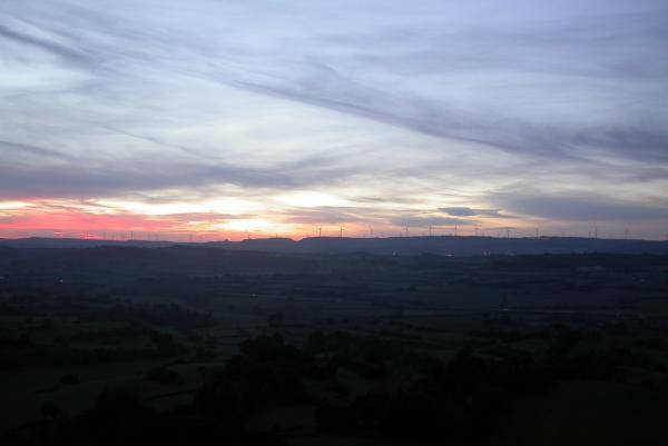 04.01.2013 Posta de sol des de la torre de la Manresana  Els Prats de Rei -  Ramon Sunyer