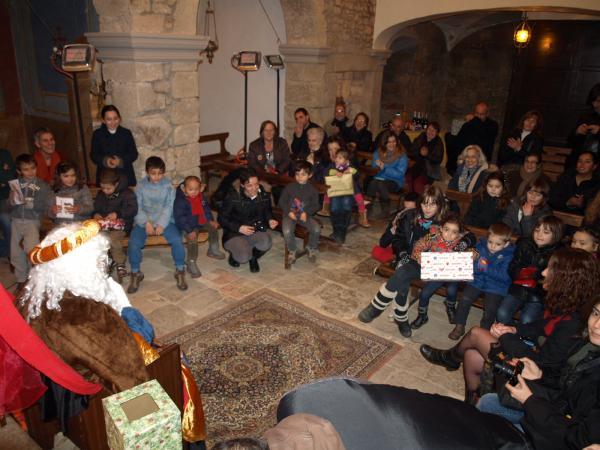 05.01.2013 la repeció reial dins església de Florejacs  Florejacs -  Jaume Moya