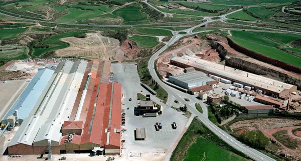 Vista general de les plantes de  Gres Catalan a Calaf