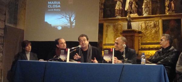 08.12.2012 Acte de presentació de 'Maria Closa'  La Guàrdia Pilosa -